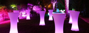 Glow Bar Tables